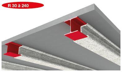 structures acier protection incendie par fibrofeu. Black Bedroom Furniture Sets. Home Design Ideas